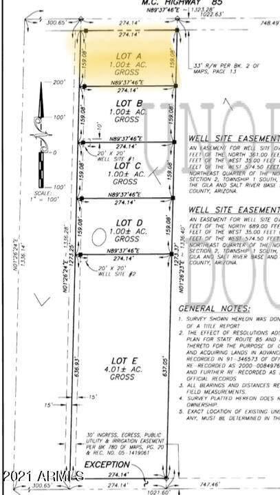 0 S 220th Lane, Buckeye, AZ 85326 (MLS #6218670) :: Long Realty West Valley