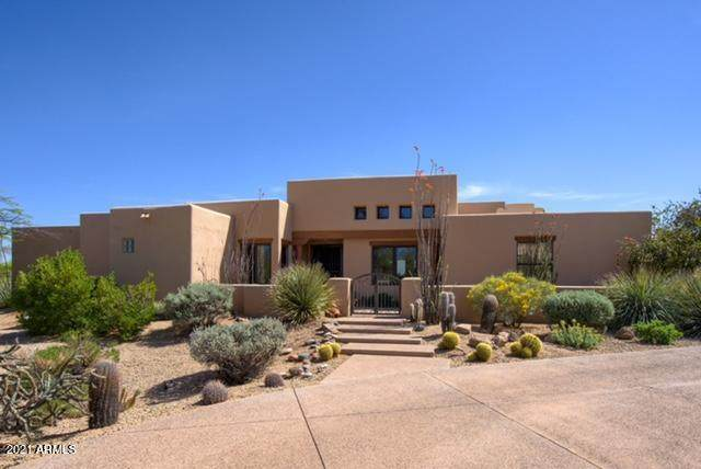 1401 E Boulder Pass Pass, Carefree, AZ 85377 (MLS #6222305) :: BVO Luxury Group