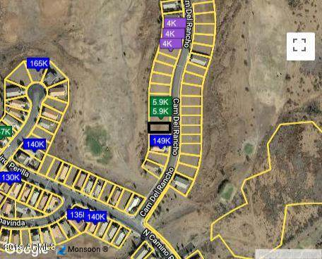 LOT 5 E Camino Del Rancho, Douglas, AZ 85607 (MLS #6230024) :: ASAP Realty