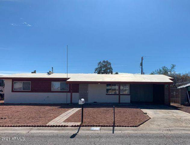 58 Brockbank Place, Sierra Vista, AZ 85635 (MLS #6231691) :: Long Realty West Valley