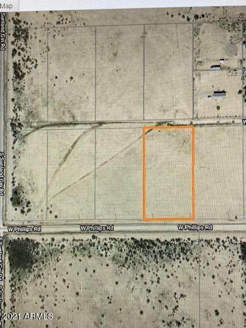 0 W Phillips Road, Arizona City, AZ 85123 (MLS #6233944) :: RE/MAX Desert Showcase