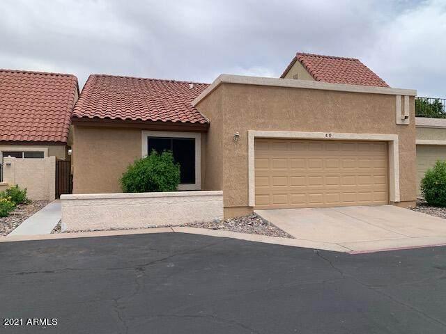 2848 E Brown Road #40, Mesa, AZ 85213 (MLS #6249237) :: Yost Realty Group at RE/MAX Casa Grande