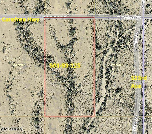 32351 W Carefree Highway, Wittmann, AZ 85361 (MLS #6253558) :: Zolin Group