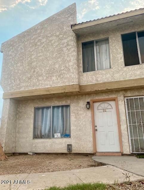 3840 N 43rd Avenue #24, Phoenix, AZ 85031 (MLS #6260650) :: The Dobbins Team