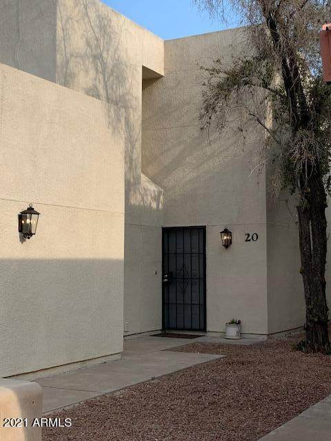 16041 N 31 Street #20, Phoenix, AZ 85032 (MLS #6268881) :: Yost Realty Group at RE/MAX Casa Grande