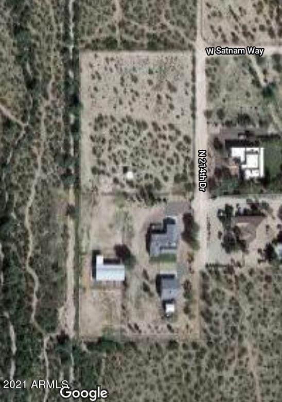34622 N 214TH Drive, Wittmann, AZ 85361 (MLS #6297672) :: Long Realty West Valley