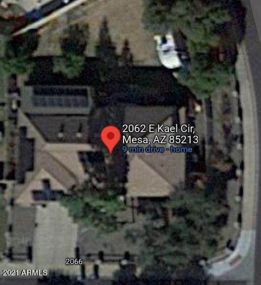 2062 E Kael Circle, Mesa, AZ 85213 (MLS #6301068) :: The Laughton Team