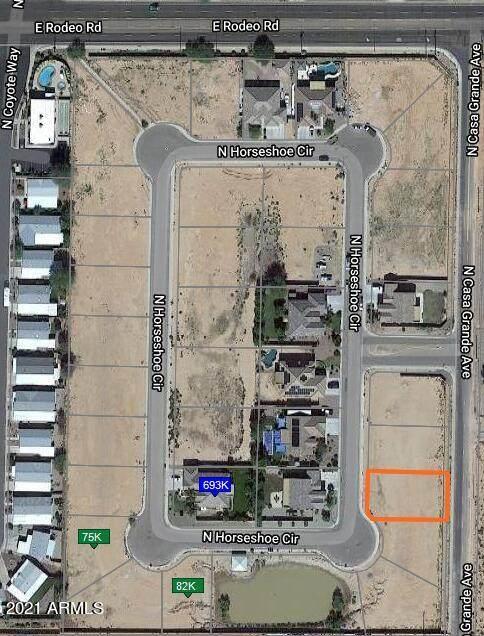 2340 N Horseshoe Circle, Casa Grande, AZ 85122 (MLS #6311690) :: Conway Real Estate