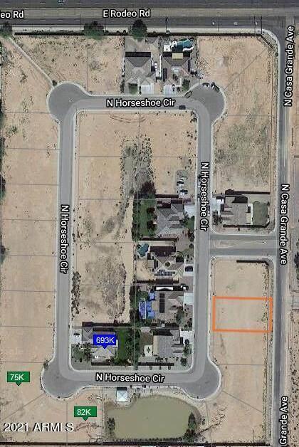 2338 N Horseshoe Circle, Casa Grande, AZ 85122 (MLS #6311700) :: Conway Real Estate