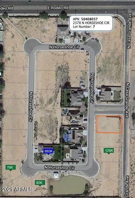 2336 N Horseshoe Circle, Casa Grande, AZ 85122 (MLS #6311703) :: Conway Real Estate
