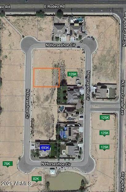 2367 N Horseshoe Circle, Casa Grande, AZ 85122 (MLS #6311769) :: Conway Real Estate