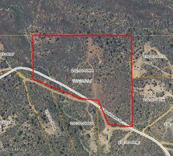0000 W Buckhorn Road, Peeples Valley, AZ 86332 (MLS #5518192) :: Relevate | Phoenix