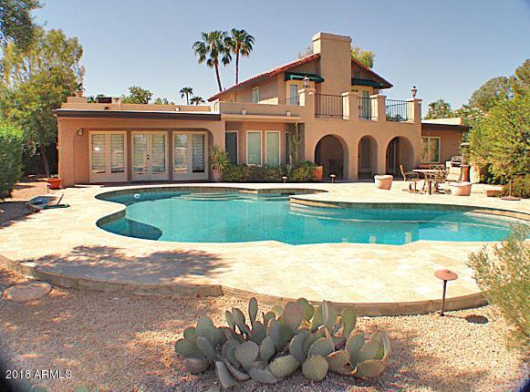 8027 N Via De Lago N, Scottsdale, AZ 85258 (MLS #5818004) :: CC & Co. Real Estate Team