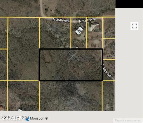 0 N 34 Avenue, New River, AZ 85087 (MLS #5825991) :: The Daniel Montez Real Estate Group