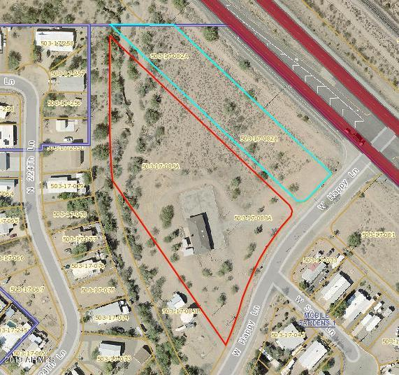 33602 W Happy Lane, Wittmann, AZ 85361 (MLS #5884469) :: The W Group