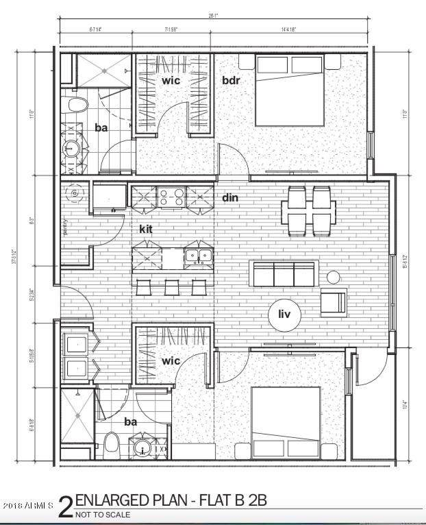 1130 N 2nd Street #308, Phoenix, AZ 85004 (MLS #5947209) :: The Property Partners at eXp Realty