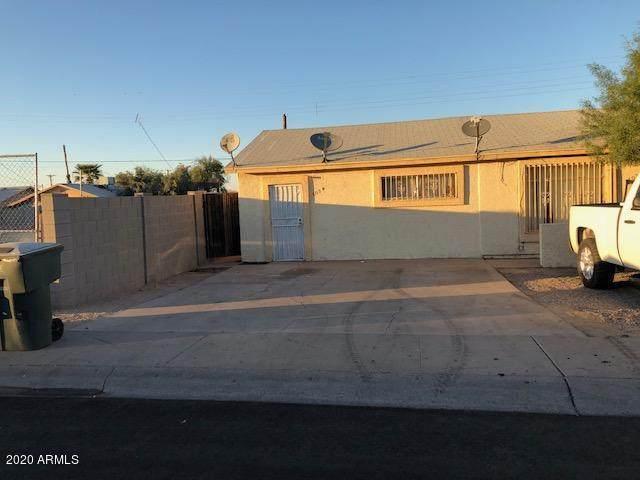 802 E Hazel Drive, Phoenix, AZ 85042 (MLS #6016562) :: Maison DeBlanc Real Estate