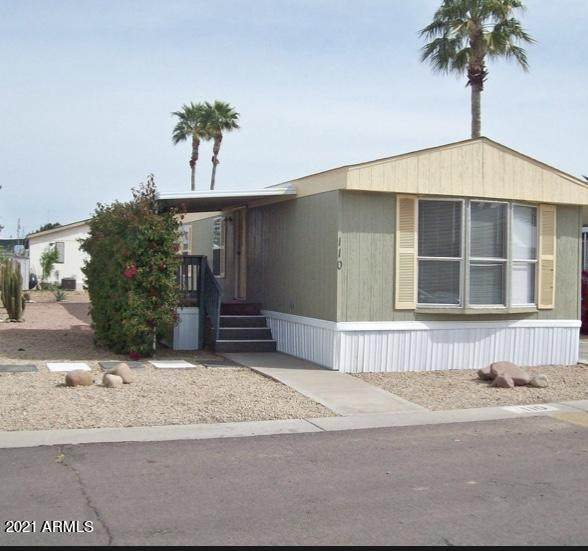 12721 W Greenway Road #110, El Mirage, AZ 85335 (MLS #6177342) :: Maison DeBlanc Real Estate