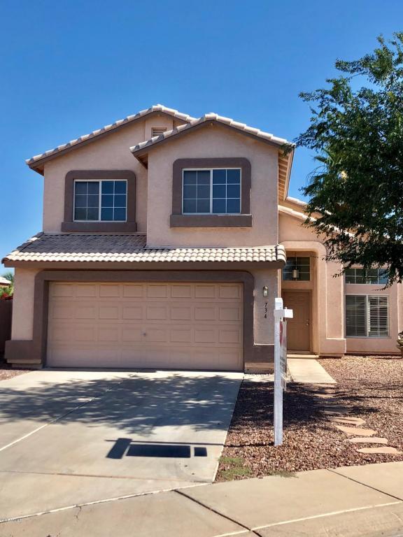 734 W Gail Court, Gilbert, AZ 85233 (MLS #5727550) :: My Home Group
