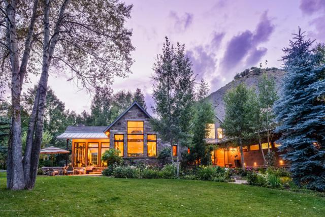 1765 Snowmass Creek Road, Snowmass, CO 81654 (MLS #144231) :: McKinley Sales Real Estate