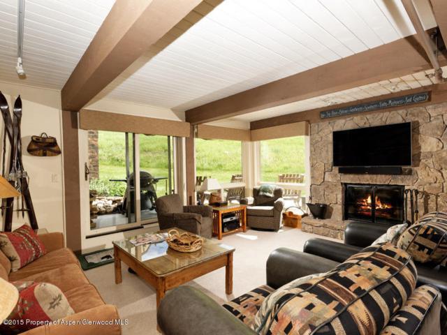 360 Wood Road #110, Snowmass Village, CO 81615 (MLS #147187) :: McKinley Sales Real Estate