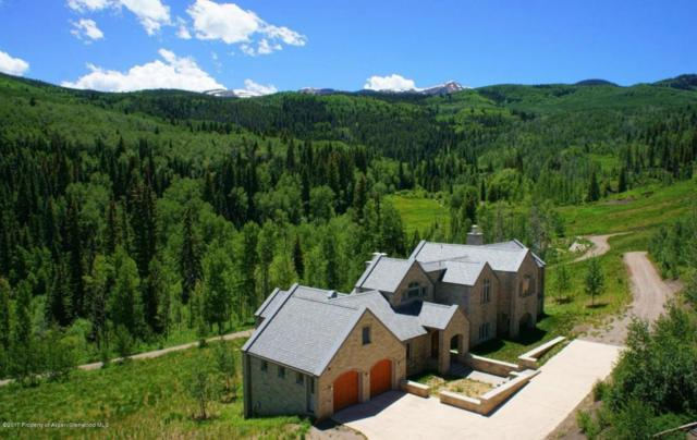 6889 Capitol Creek Road, Snowmass, CO 81654 (MLS #149134) :: McKinley Sales Real Estate