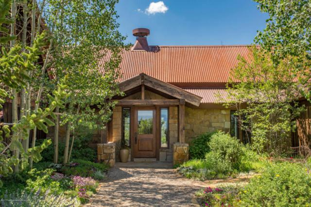 334 Monastery Cutoff Road, Snowmass, CO 81654 (MLS #149930) :: McKinley Sales Real Estate