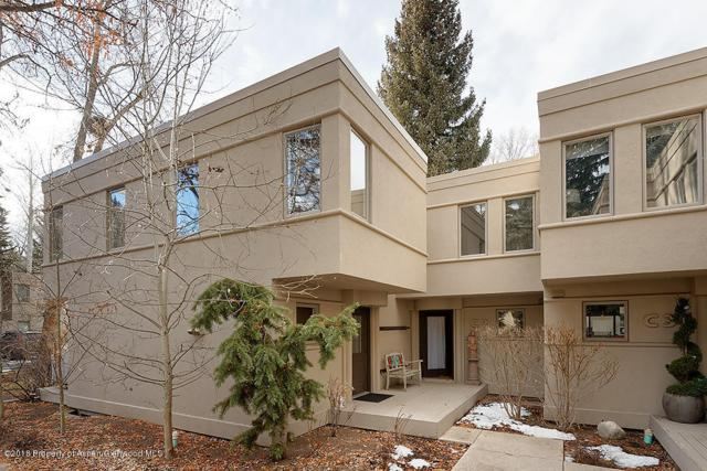 814 W Bleeker Street Unit C-2, Aspen, CO 81611 (MLS #152306) :: McKinley Sales Real Estate