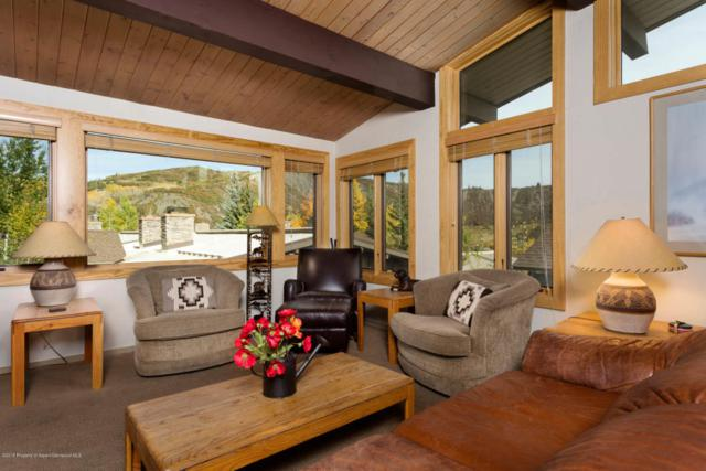 600 Carriage Way J-17, Snowmass Village, CO 81615 (MLS #152782) :: McKinley Sales Real Estate