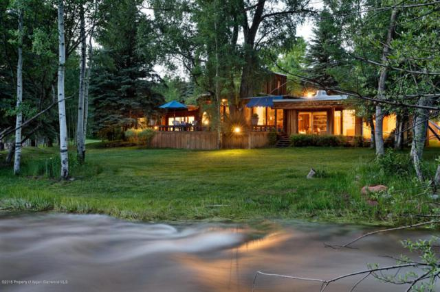 1220 Woody Creek Road, Woody Creek, CO 81656 (MLS #154510) :: McKinley Real Estate Sales, Inc.