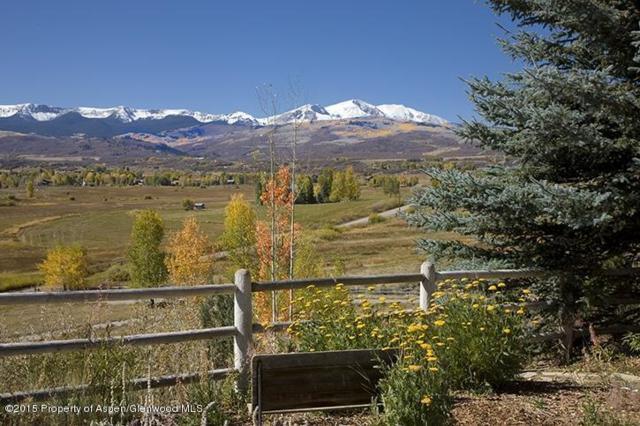 6890 E Sopris Creek Road, Snowmass, CO 81654 (MLS #154699) :: McKinley Sales Real Estate