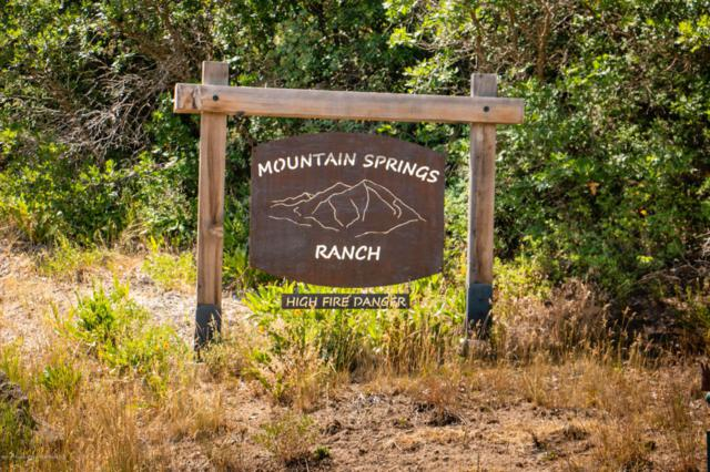 TBD S Marsh Lane Lot 32, Glenwood Springs, CO 81601 (MLS #155315) :: McKinley Sales Real Estate