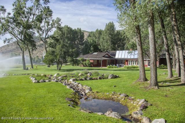 3333 Snowmass Creek Road, Snowmass, CO 81654 (MLS #155480) :: McKinley Sales Real Estate