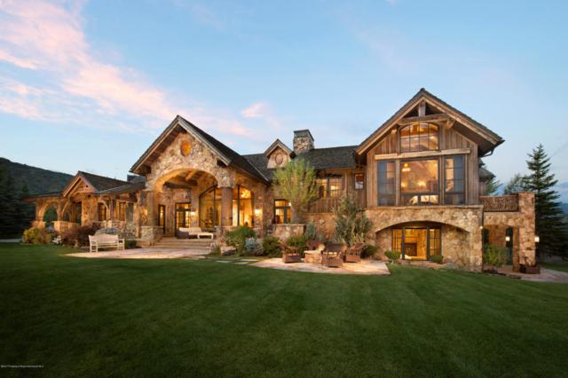 780 Pioneer Springs Road, Snowmass Village, CO 81615 (MLS #156116) :: McKinley Sales Real Estate