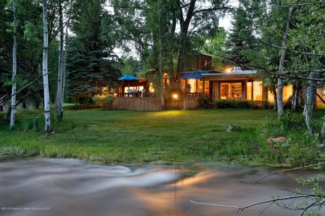 1220 Woody Creek Road, Woody Creek, CO 81656 (MLS #157263) :: McKinley Real Estate Sales, Inc.