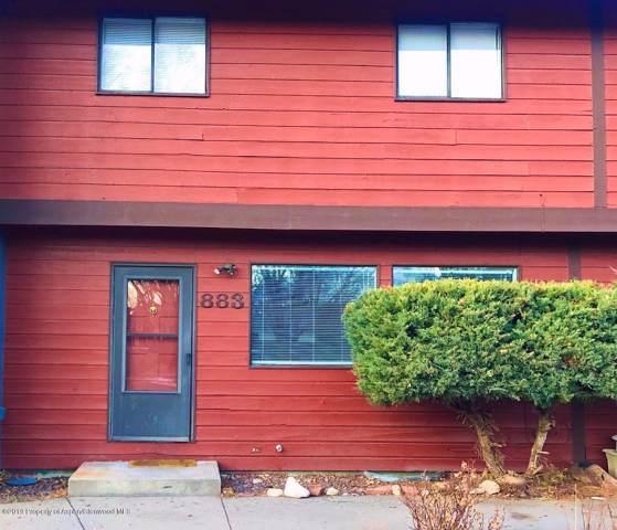 883 Colorado Avenue, Carbondale, CO 81623 (MLS #162282) :: McKinley Real Estate Sales, Inc.