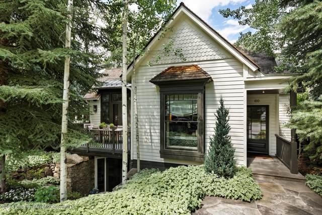 610 W Hallam Street, Aspen, CO 81611 (MLS #162360) :: McKinley Real Estate Sales, Inc.