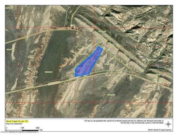 107 Mcr 104 Road, Dinosaur, CO 81610 (MLS #165249) :: Western Slope Real Estate