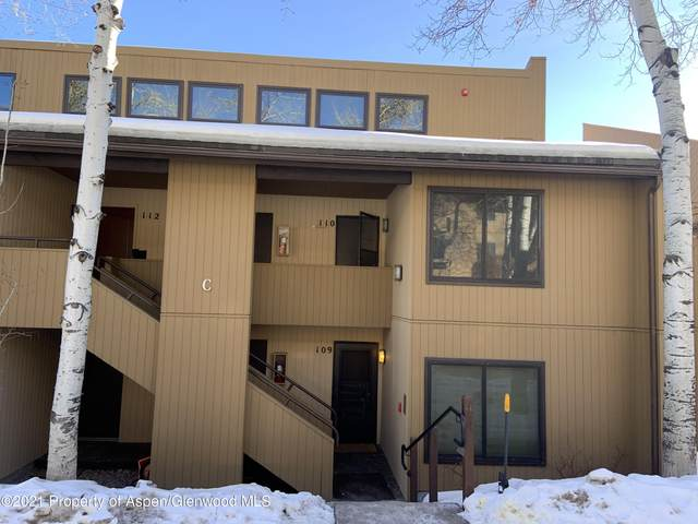 35 Lower Woodbridge Road #110, Snowmass Village, CO 81615 (MLS #168178) :: Roaring Fork Valley Homes