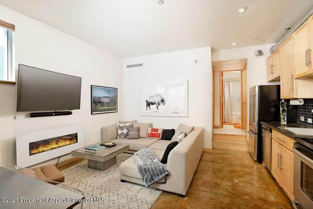 434 E Main Street #104, Aspen, CO 81611 (MLS #168435) :: Roaring Fork Valley Homes