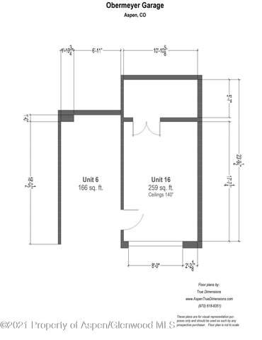 601 Rio Grande Place #6, Aspen, CO 81611 (MLS #168895) :: McKinley Real Estate Sales, Inc.
