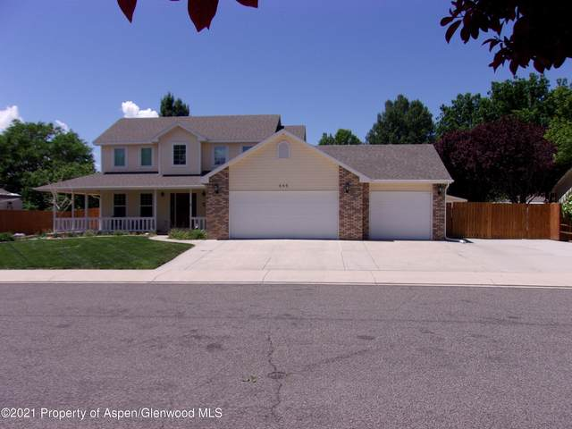 645 Tamarron Drive, Grand Junction, CO 81506 (MLS #170407) :: Western Slope Real Estate