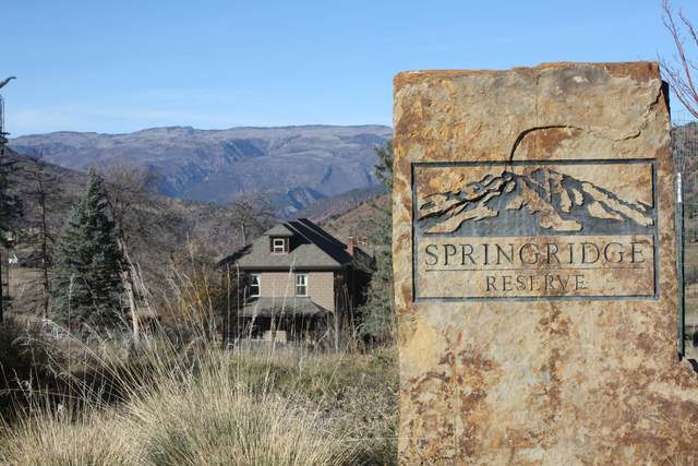 Lot 55 Hidden Valley Drive, Glenwood Springs, CO 81601 (MLS #136755) :: Roaring Fork Valley Homes
