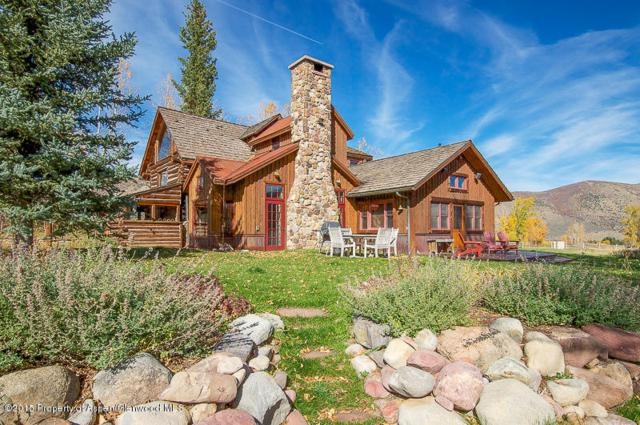 1150 Capitol Creek Road, Snowmass, CO 81654 (MLS #138206) :: McKinley Sales Real Estate