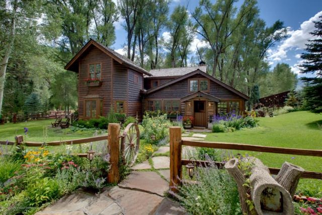 6458 Snowmass Creek Road, Snowmass, CO 81654 (MLS #150505) :: McKinley Sales Real Estate