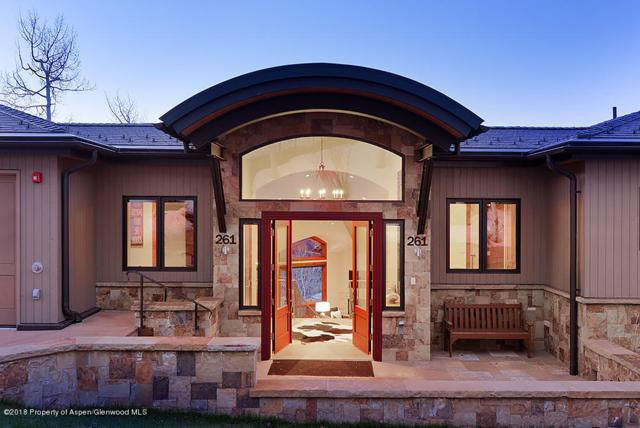 261 Edgewood Lane, Snowmass Village, CO 81615 (MLS #154336) :: McKinley Sales Real Estate