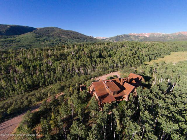 8201 Capitol Creek Road, Snowmass, CO 81654 (MLS #154900) :: McKinley Sales Real Estate