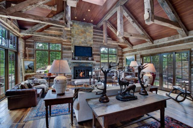 4305 Snowmass Creek Road, Snowmass, CO 81654 (MLS #155031) :: McKinley Sales Real Estate