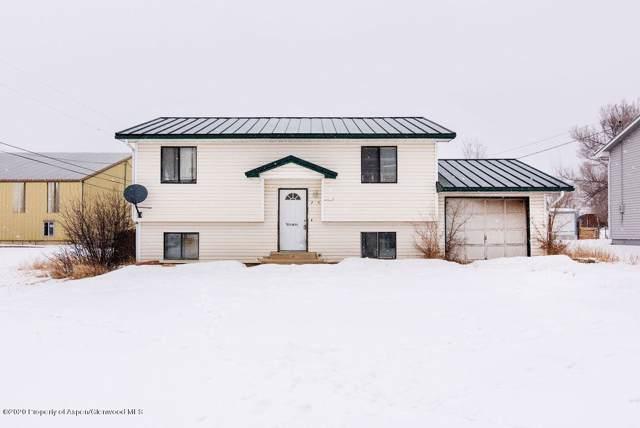 122 E 4th Street, Dinosaur, CO 81610 (MLS #162733) :: Roaring Fork Valley Homes