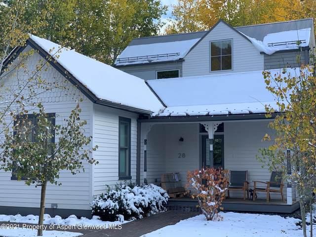 28 Smuggler Grove Road, Aspen, CO 81611 (MLS #169463) :: Roaring Fork Valley Homes